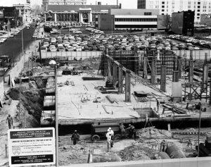 construction of the LRSM building