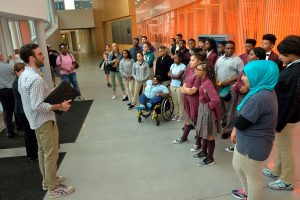 Photo of Group Field Trip In the Singh Center