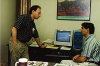 Faculty interaction, Summer '99