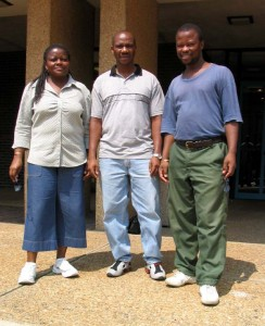 Profs. Sekota, Manyala, and Mpholo