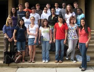 REU Students, 2009