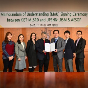 LRSM & ASEOP Forge Collaboration with the Korea Institute of Science and Technology (KIST)