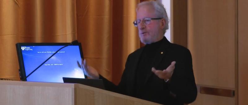 LRSM, Eli Burstein Lecture: Alan Heeger 11.12.13