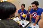 Paul Masih Das, Hannah Hughes (NSF Graduate Fellow) & Gopinath Danda from the Drndić Lab