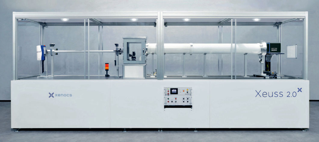 Ultra-Small-Angle to Wide-Angle Dual Source X-ray Scattering Instrument for SEF