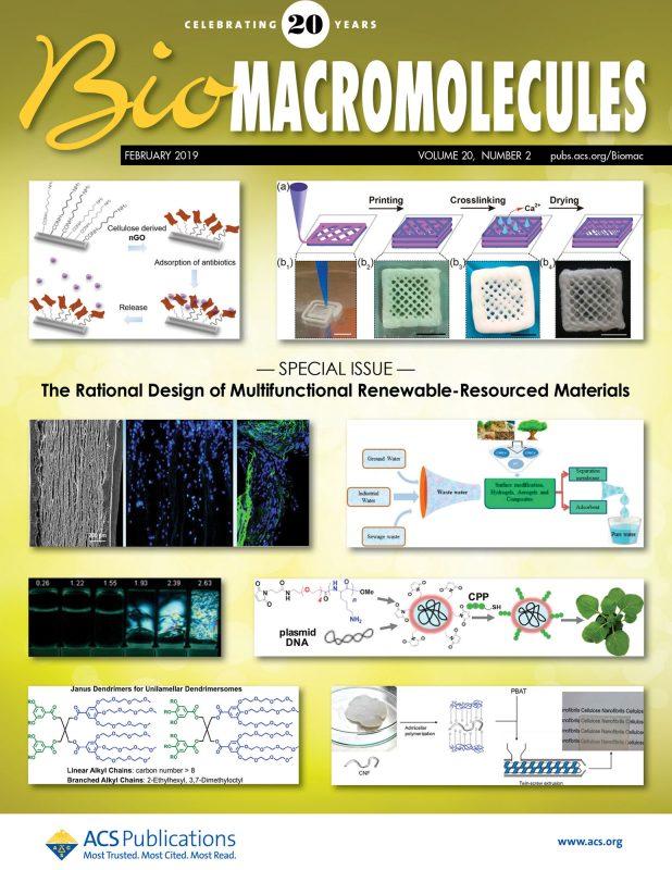 BiomacroMolecules cover 2019, Percec