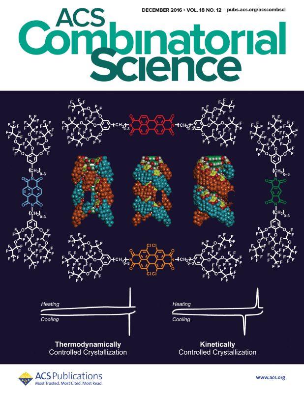 ACS Combinatorial Science cover 2016, Percec
