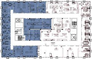 lrsm 3rd floor south construction map