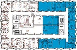 lrsm 4th floor north construction map