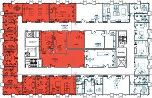 lrsm 4th floor south construction map
