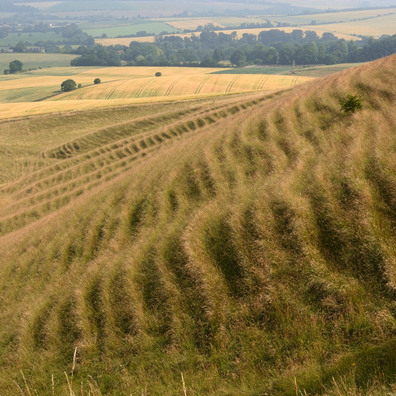 The Perpetual Fragility of Creeping Hillslopes